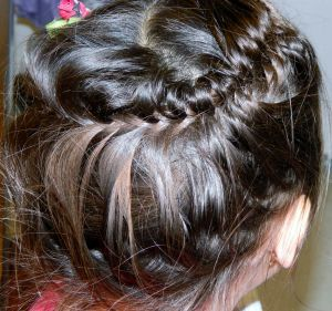 Hy-Braid Fish Tail Combo - Back side view